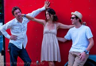 Ward, Amy and Jason at the Finger Lakes GrassRoots Festival of Music and Dance.